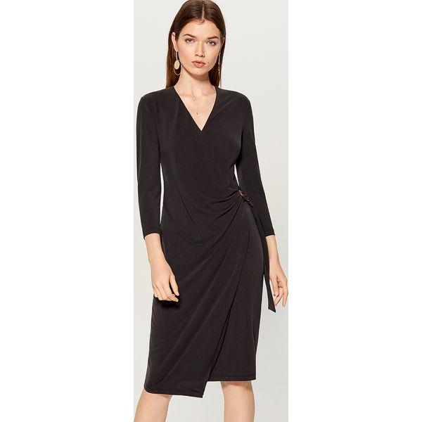 fc240e74 Sukienka z asymetrycznym dołem - Szary