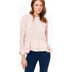 113dd5e86492 Damska bluzka zapinana z tyłu - Bluzki damskie - Kolekcja wiosna ...