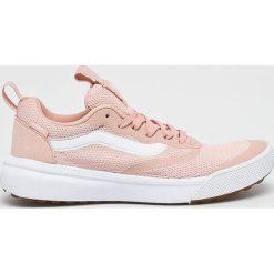Różowe buty sportowe na co dzień damskie Vans Kolekcja