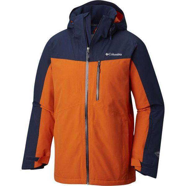 dobra tekstura 100% najwyższej jakości oficjalne zdjęcia COLUMBIA kurtka narciarska męska Wild Card Jacket Coll Navy Back XL