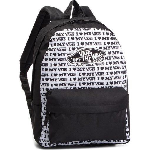 0c5232dedb395 Plecak VANS - Realm Backpack VN0A3UI6UVP1 Black Vans Love - Plecaki ...
