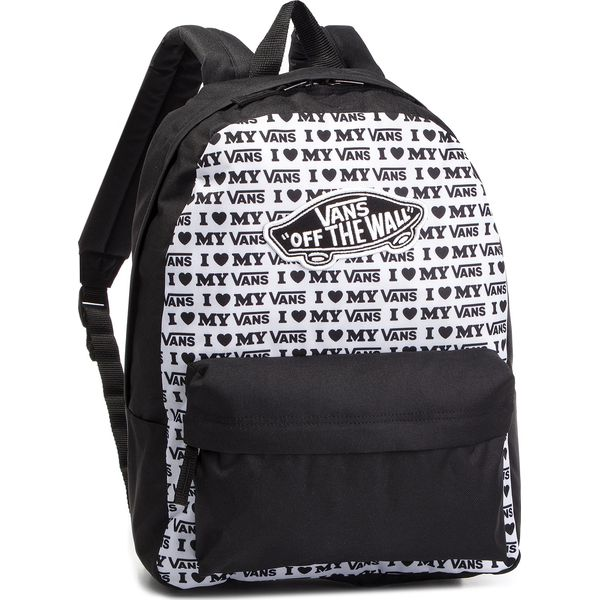 e20c071d8a0e3 Plecak VANS - Realm Backpack VN0A3UI6UVP1 Black/Vans Love - Plecaki ...