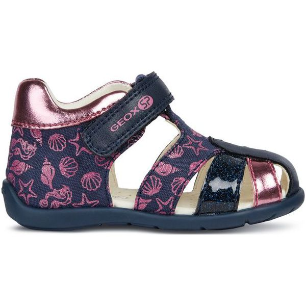 c5d603feb0d5a Geox Sandały Dziewczęce Elthan 20 Niebieskie - Sandały dziewczęce ...
