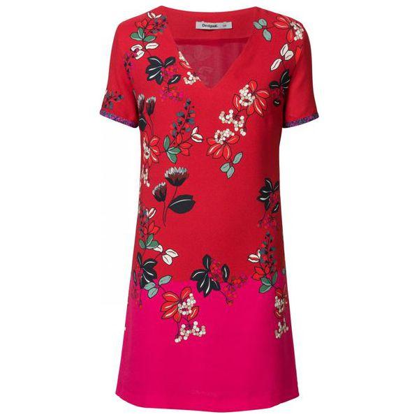 1728a3b7 Desigual sukienka damska Vest Debrecen 36 czerwona