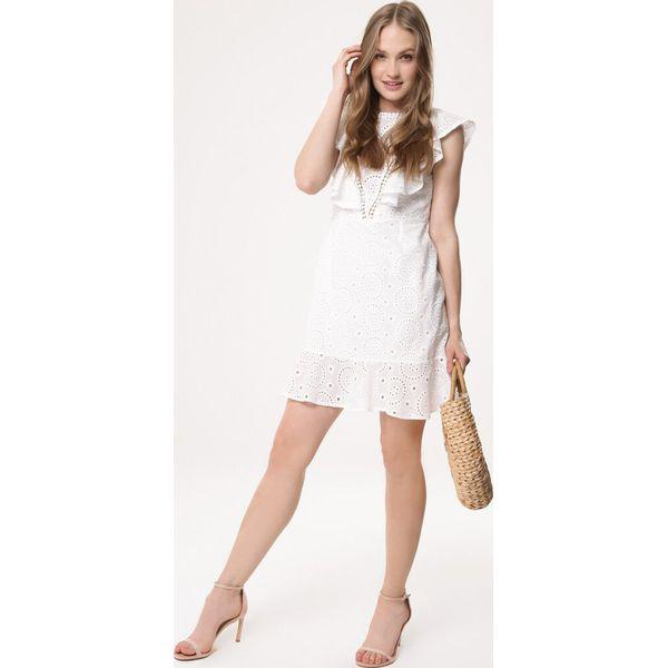 a97b82d6fa Biała Sukienka Prove Out - Białe sukienki damskie marki Born2be