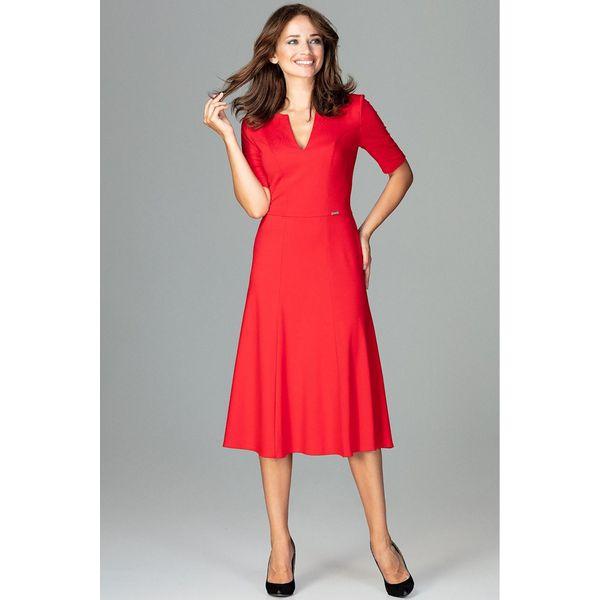 3b858e4393 Sukienka koktajlowa za kolano k478 - Sukienki damskie marki Global ...