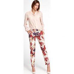 77ba02c46d ... sklepu Jesteś Modna - Kolekcja wiosna 2019. -36%. Klasyczne spodnie w  kwiaty sd33. Spodnie materiałowe damskie marki Nife. W wyprzedaży za 89.00