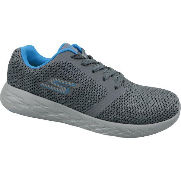 Skechers Go Run 600 55061 CCBL buty sneakers męskie szare 41