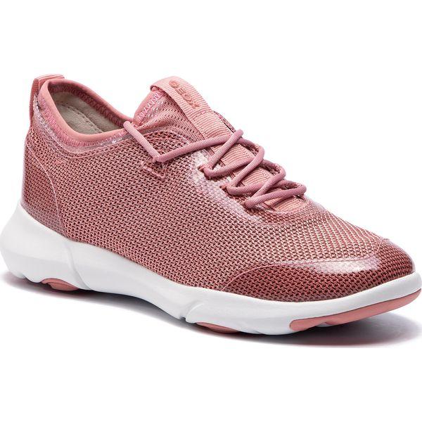 Półbuty GEOX D Almathia D D721MD 085BV C0814 WhiteLt Pink