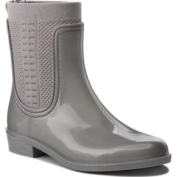 c592d5c8e301d Kalosze TOMMY HILFIGER - Shiny Rain Boot FW0FW03403 Silver 000 ...