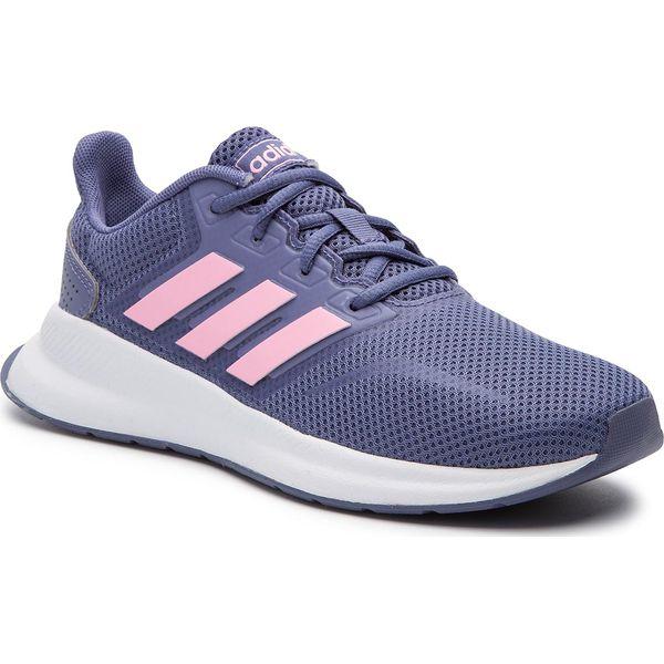buty adidas do biegania damskie fioletowe