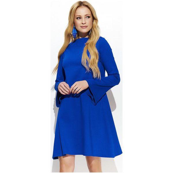 bae8b0ab4a Makadamia Sukienka Damska 38 Niebieska - Sukienki damskie marki ...