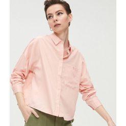 Różowe koszule damskie Cropp Kolekcja lato 2020 Sklep  x92ke
