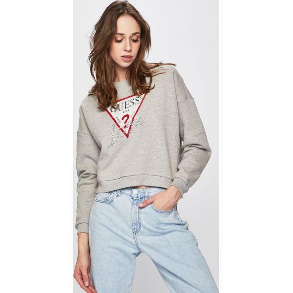 d4cc92d22661f Guess Jeans - Bluza - Bluzy z nadrukiem damskie marki Guess Jeans. W  wyprzedaży za 259.90 zł. - Bluzy z nadrukiem damskie - Bluzy damskie -  Odzież damska ...