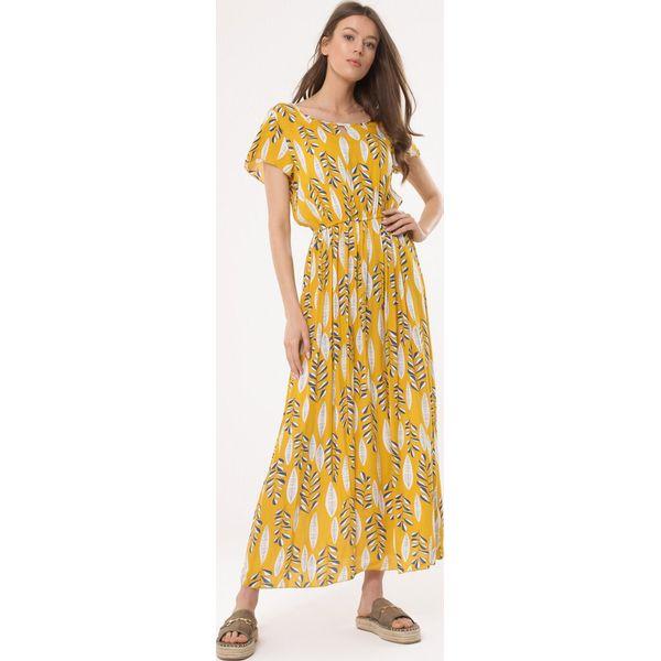 dfb60d3b88 Żółta Sukienka Evaluate - Żółte sukienki damskie marki Born2be