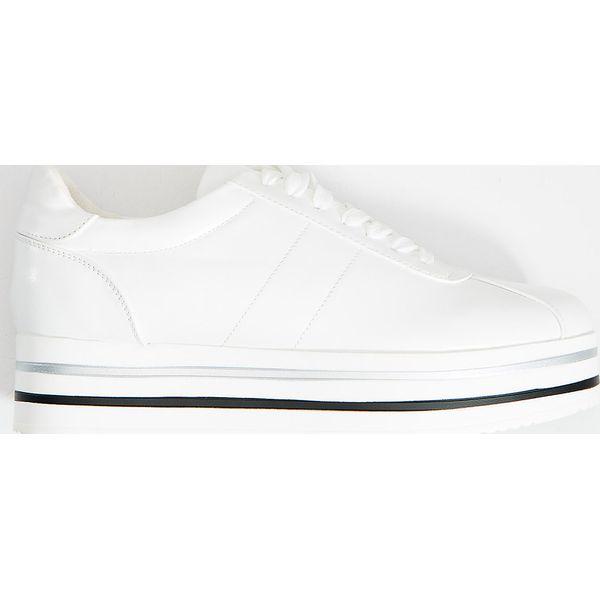 Buty sportowe na platformie Biały