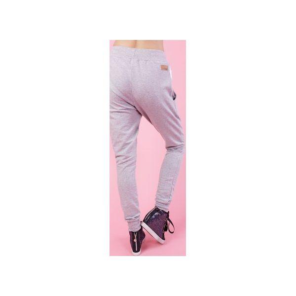 577c0b4b92 ZAWADIACKIE SPODNIE RITA - SZARE - Spodnie materiałowe damskie marki ...
