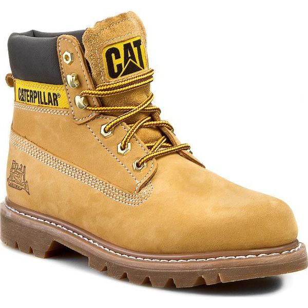 ff42176d58408 Trapery CATERPILLAR - Colorado PWC44100-940 Honey - Buty zimowe ...