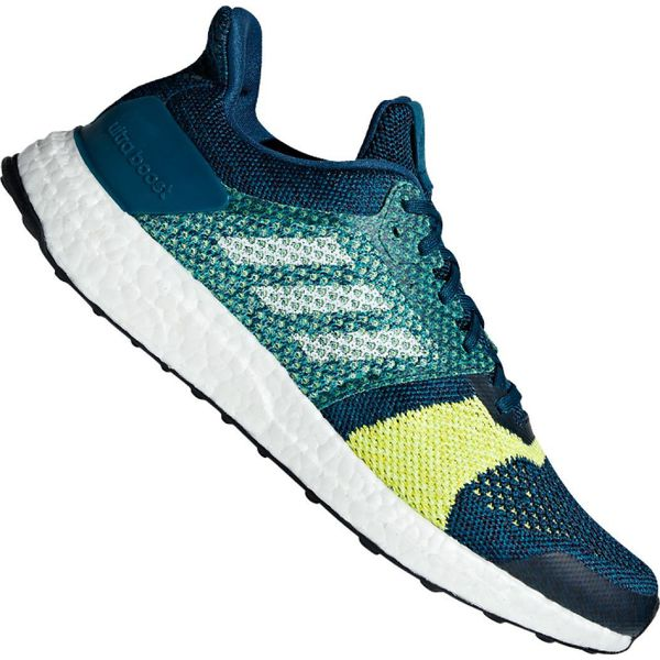Niebieskie Buty adidas UltraBoost St M B37695 | Treningowe