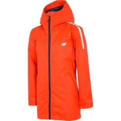 Czerwone kurtki i płaszcze dziewczęce ze sklepu 4F