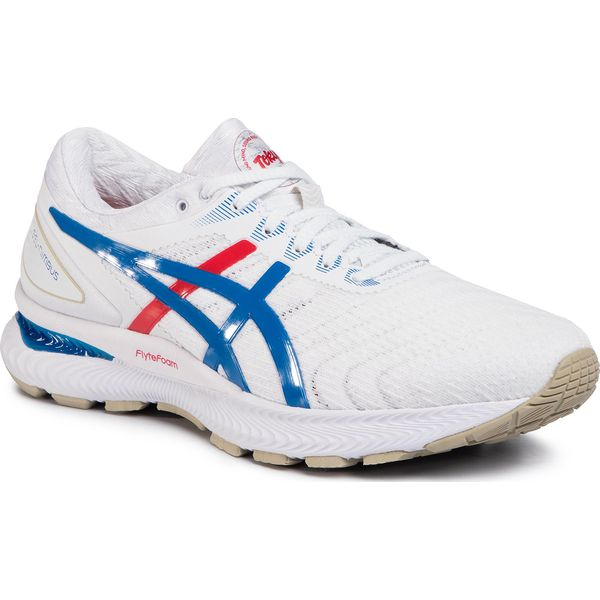 Buty ASICS Gel Nimbus 22 1011A780 WhiteElectric Blue 100
