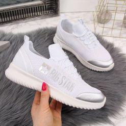 Białe buty sportowe, kolekcja wiosna 2020
