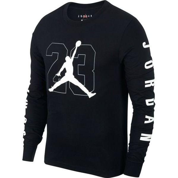 sklep dyskontowy Darmowa dostawa dobry Jordan Koszulka męska Graphic Longsleeve czarna r. XXXL (AQ3701-010)