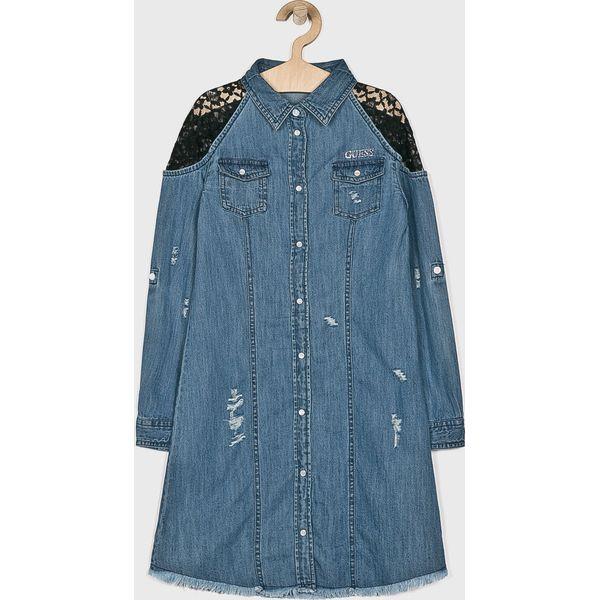 0d31c34f80449 Guess Jeans - Sukienka dziecięca 136-175 cm - Sukienki dziewczęce marki  Guess Jeans. W wyprzedaży za 159.90 zł. - Sukienki dziewczęce - Ubrania dla  ...