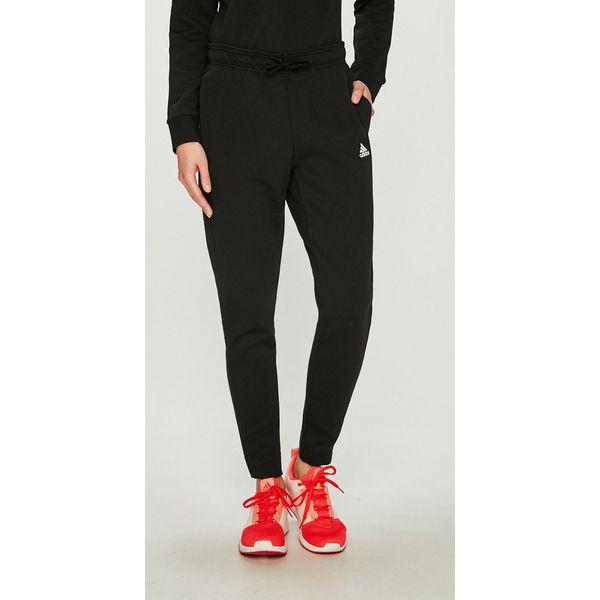 bf62d8bbbdca4d adidas Performance - Spodnie - Czarne spodnie sportowe damskie ...