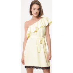 d72726101 Sukienka koktajlowa koronka - Sukienki damskie - Kolekcja lato 2019 ...