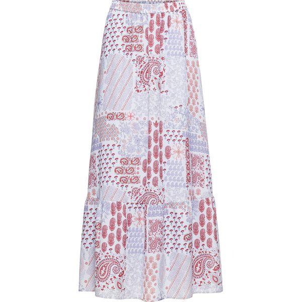4442bced Długa spódnica z nadrukiem: MUST HAVE bonprix jasnoniebieski - paisley