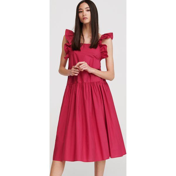 8664d59d93 Sukienka z odkrytymi plecami - Różowy - Sukienki damskie marki ...