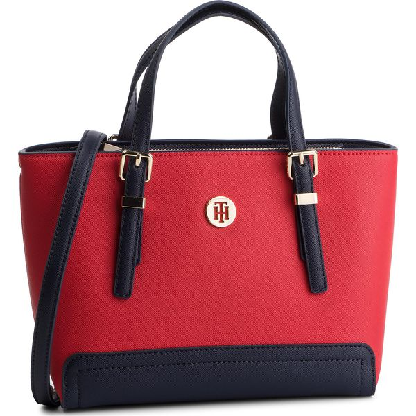 d2100cd2f07cb Torebka TOMMY HILFIGER - Honey Small Tote AW0AW06421 614 - Torebki ...