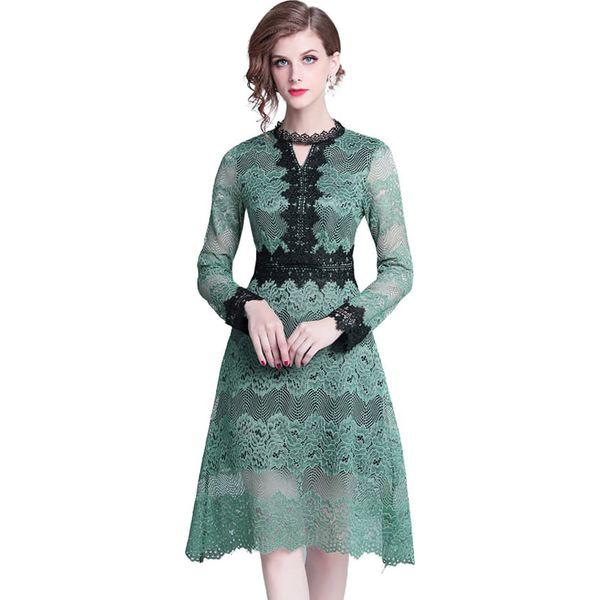 9c0da8f8 Sukienka w kolorze zielonym