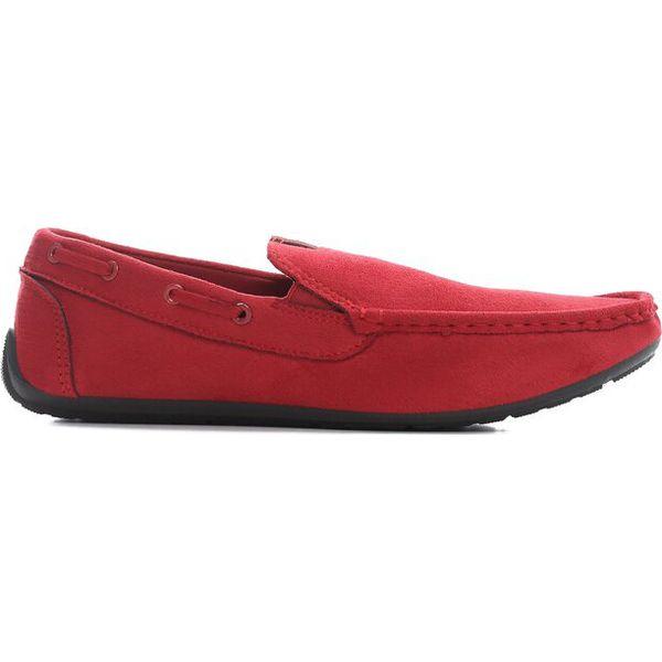 b9947ae7da135 Czerwone Mokasyny Destined - Mokasyny męskie marki Born2be. Za 99.99 ...