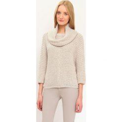 a9a3ae3ef7 Brązowe swetry damskie - Kolekcja wiosna 2019 - Sklep Super Express