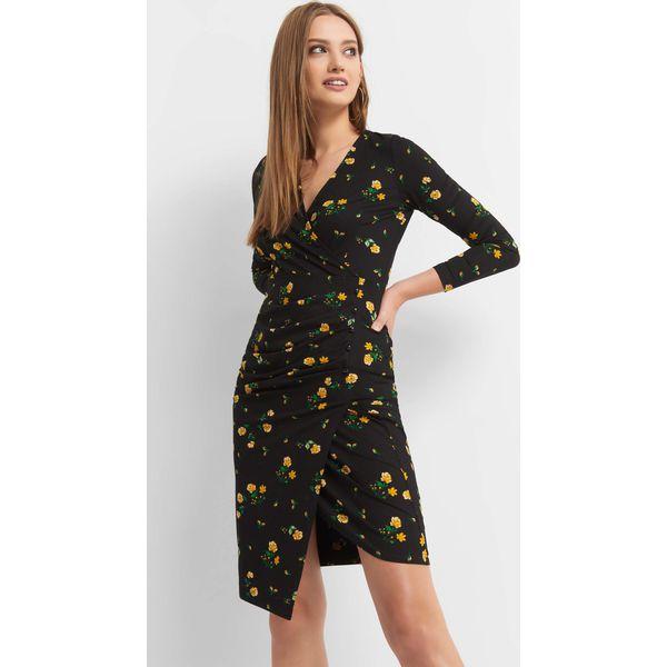 af9a986362 Kopertowa sukienka w kwiaty - Sukienki damskie marki ORSAY. W ...