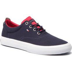 715aa71892bc9 Tenisówki TOMMY HILFIGER - Core Thick Textile Sneaker FM0FM02160 Midnight  403. Trampki i tenisówki męskie