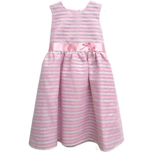 4f1b54f4 Topo Sukienka Dziewczęca W Paski 152 Różowa