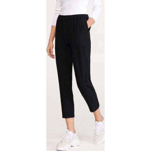 Spodnie z elastyczną talią Czarny