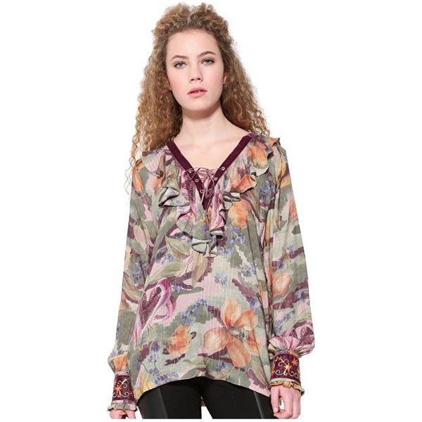 e8417941 Desigual Bluzka damska bluse Marion 17WWBN01 4003 (rozmiar S)