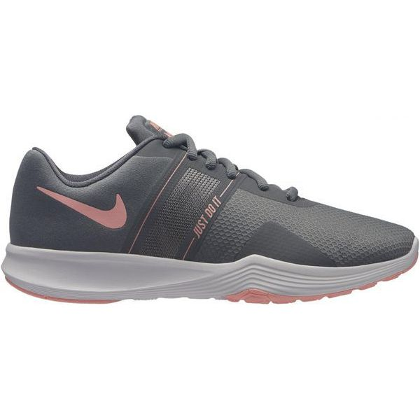 80b1464a7fe46 Nike Buty Treningowe Damskie City Trainer 2 Women s Training Shoe Cool Grey Oracle  Pink-Wolf Grey 42 - Obuwie treningowe damskie marki Nike.