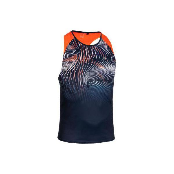 b7bf033ef3cd4f Koszulka bez rękawów do biegania męska - Niebieskie t-shirty sportowe  męskie KALENJI, m, z materiału, bez ramiączek, do biegania. Za 59.99 zł.