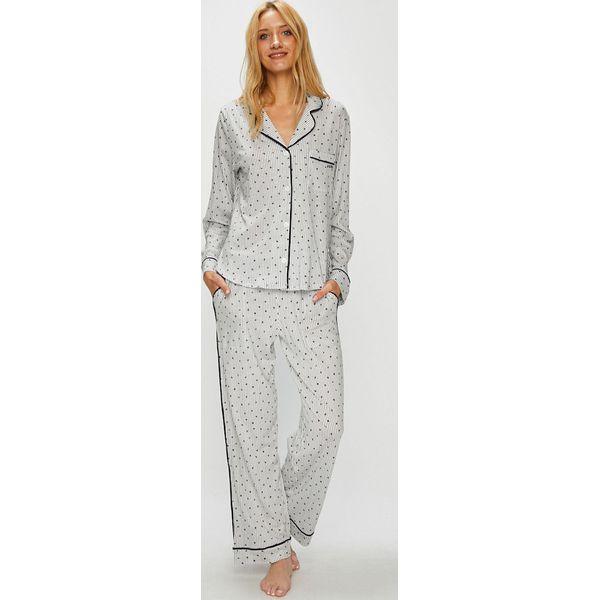 647e89d0d00390 Dkny - Piżama - Białe piżamy damskie DKNY, s, bez wzorów, z bawełny ...