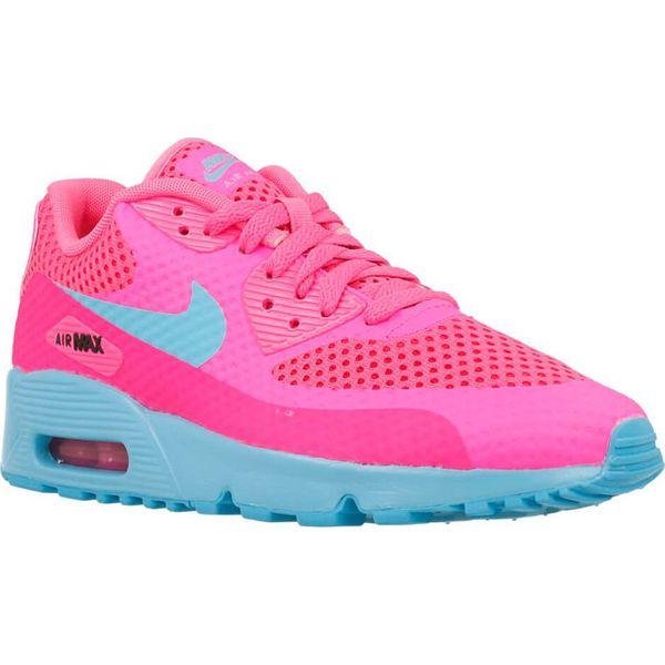 2018 buty w sprzedaży hurtowej dla całej rodziny Nike Buty damskie Air Max 90 BR Gs różowe r. 38 (833409-600)