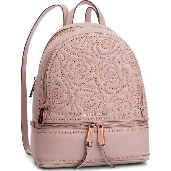f2be47f201413 Plecak MICHAEL MICHAEL KORS - Rhea Zip 30H8TEZB2O Soft Pink ...