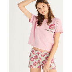 4e800a2a930c57 Dwuczęściowa piżama - Różowy. Piżamy damskie marki Sinsay. Za 39.99 zł.