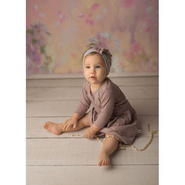 3965b405 Komplet dziewczęcy - sukienka i opaska Vintage Rose 74