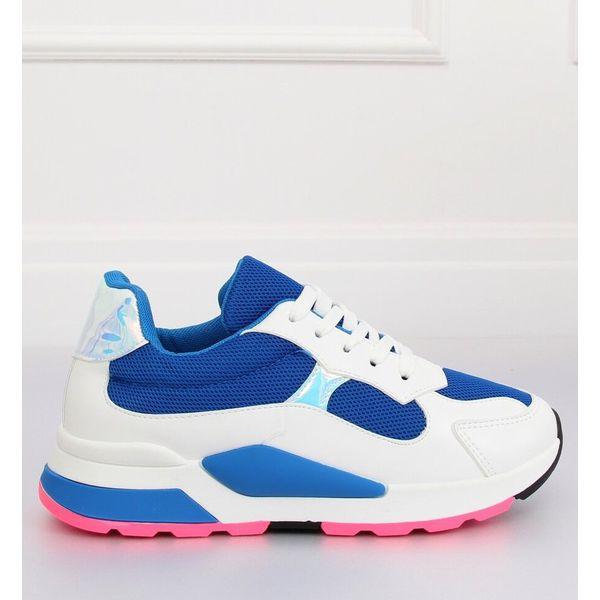 Buty sportowe biało granatowe JRX306 BLUEWHITE