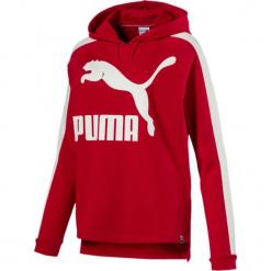 dbc26a799 Czerwona odzież damska Puma - Kolekcja lato 2019. -54%. Bluza w kolorze  czerwonym. Czerwone bluzy z nadrukiem damskie Puma, xs, prążkowane.
